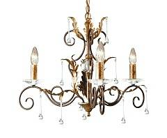 Подвесная люстра Elstead Lighting AMARILLI AML3 BR/GLD